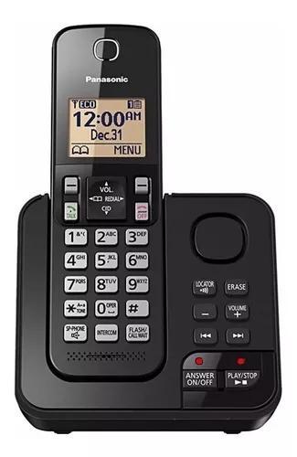 Telefone s/ fio panasonic kx-tgc360 c/ secretaria eletronica