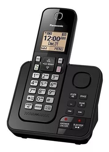 Telefone s/ fio panasonic kx-tgc360lab sec eletronica bivolt