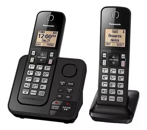 Telefone s/ fio panasonic kx-tgc362 base+ramal