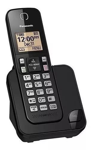 Telefone s/ fio panasonic tgc350lb 110v c/bina viva voz + nf