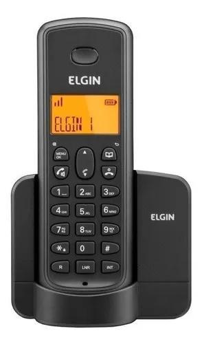 Telefone s/ fio tsf-8001 elgin (não aceita chip gsm)