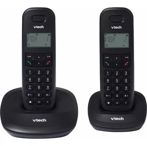 Telefone vtech dect vt 600-mrd2 s/fio digital com id. de cha