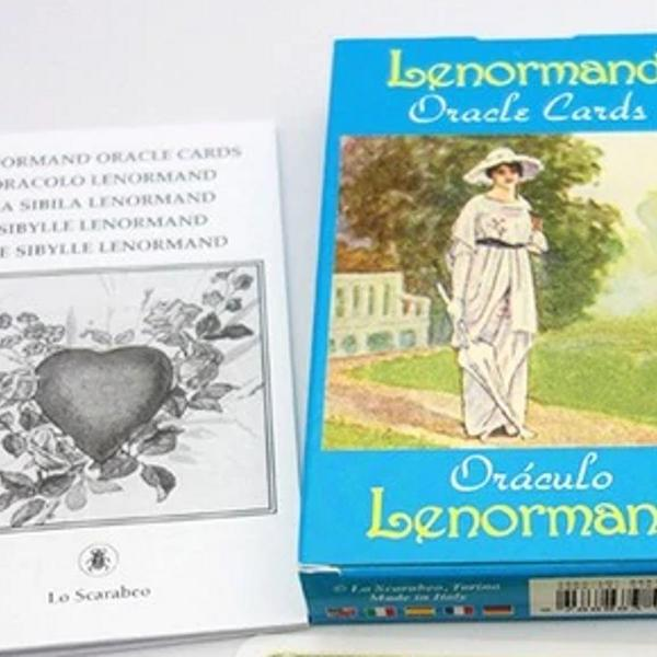Baralho lenormand oracle cards