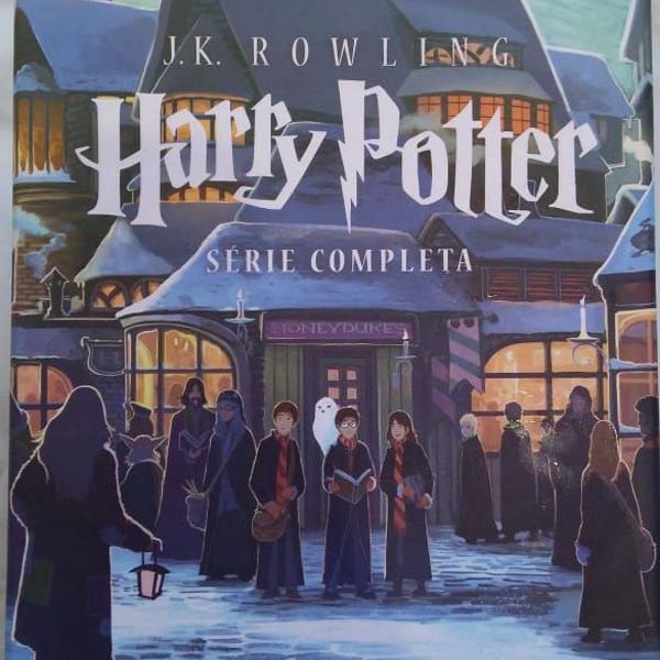 Box coleção harry potter - 7 volumes