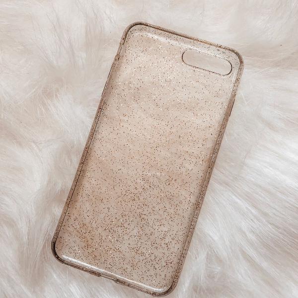 Case com brilho iphone