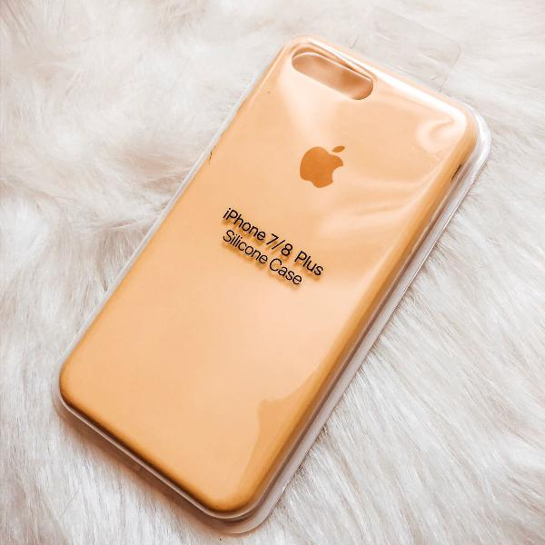 Case de silicone iphone