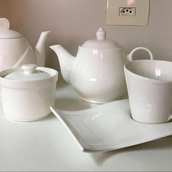 Conjunto de porcelana chinesa