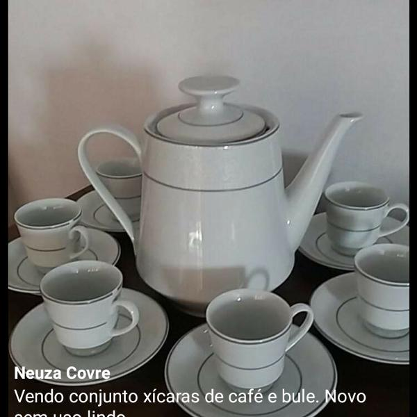 Conjunto xícaras café