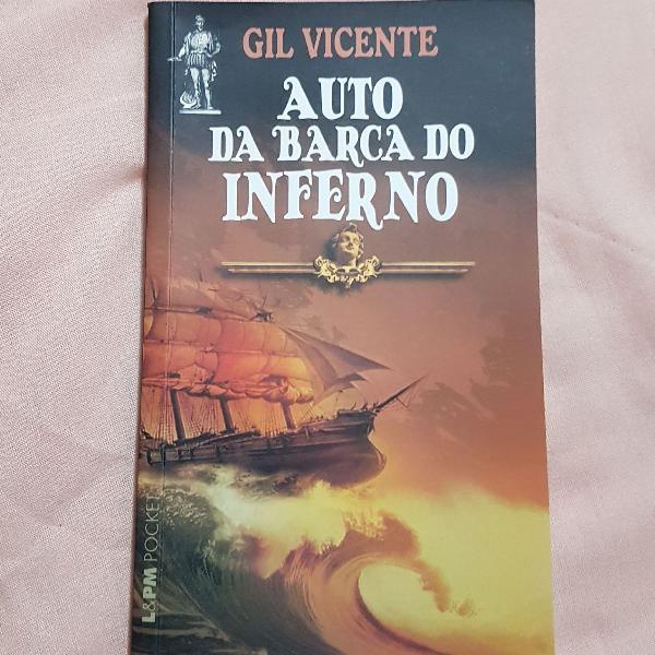 Duo de livros cronistas + auto da barca do inferno