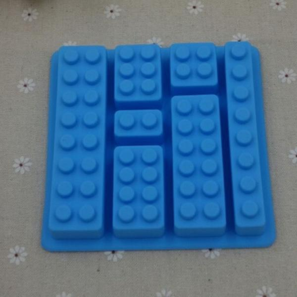 Forma de gelo lego