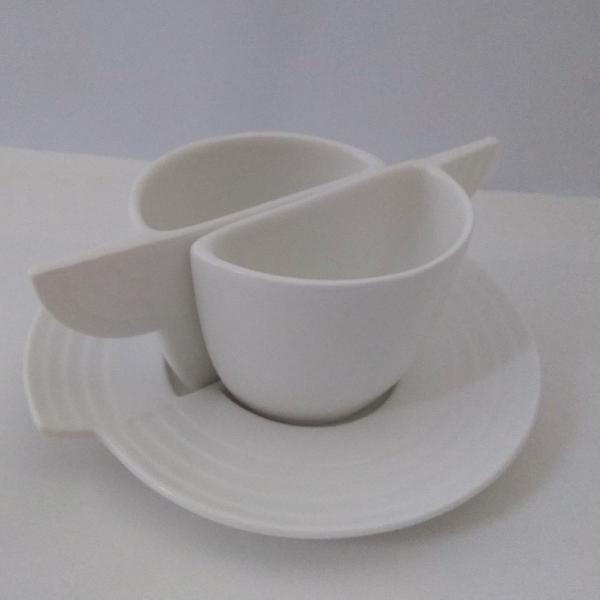 Jogo xícaras para café porcelana