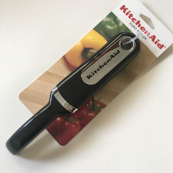 Kitchenaid: descascador legumes & frutas classic, preto