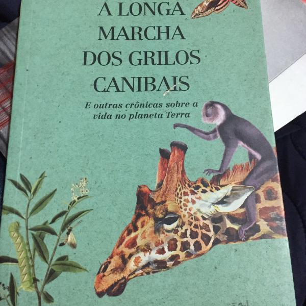 Livro a longa marcha dos grilos canibais de fernando