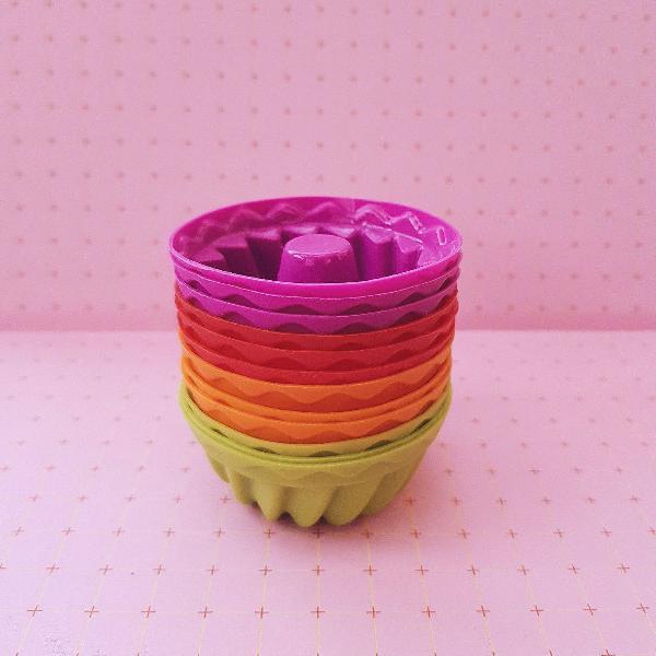 mini formas de silicone