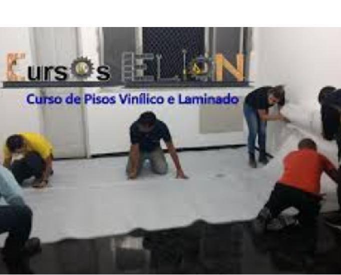 Curso de piso laminado e vinílico com aulas práticas