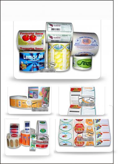 Etiquetas adesivas, fitas de cetim, fitas de tafeta (senhor