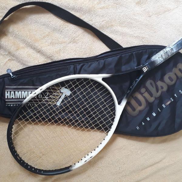 Raquete de tênis wilson hammer 6.2 midsize
