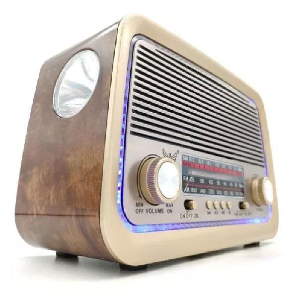 Rádio portátil retro altomex - a-3199