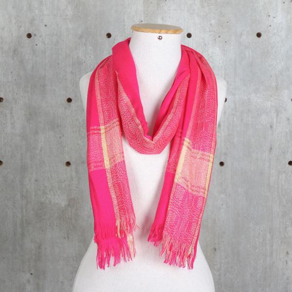 Echarpe rosa pink