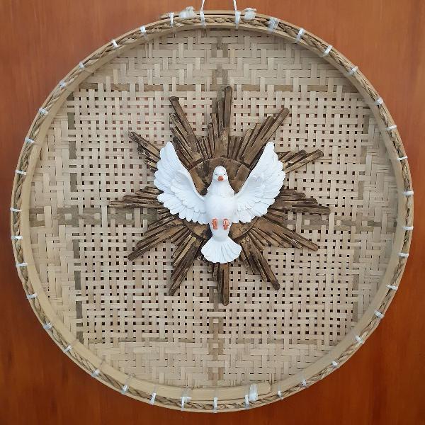 Enfeite peneira - decoração - rústico - espirito santo
