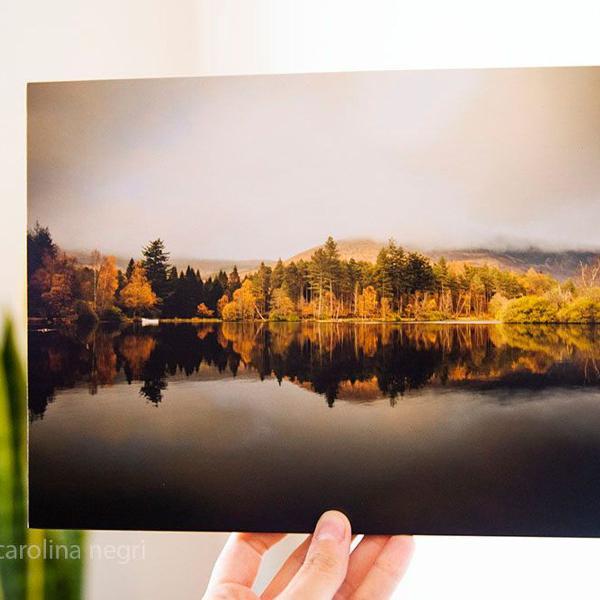 Foto para decoração de paisagem escocesa