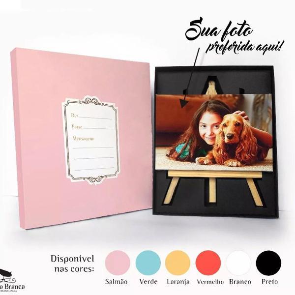 Kit porta retrato personalizado com a foto que você