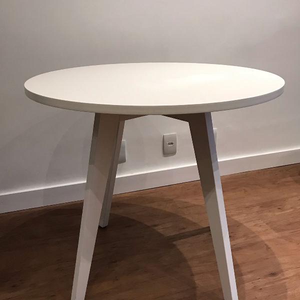 Mesa de jantar redonda tok stok
