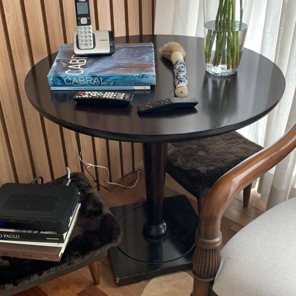 Mesa lateral madeira