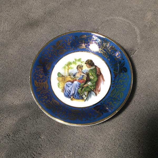 Mini prato decorativo porcelana guillen