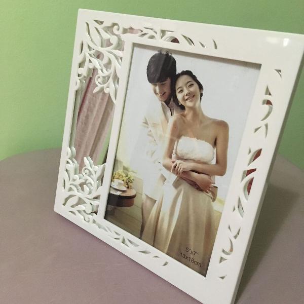 Porta retratos com espelho 13x18