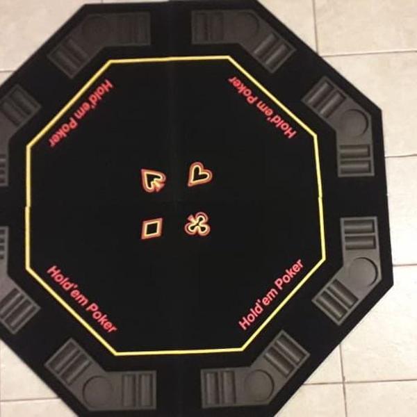 Tampão de mesa de poker