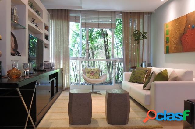 Apartamento 130m², 3 quartos, rua domingos ferreira - copacabana