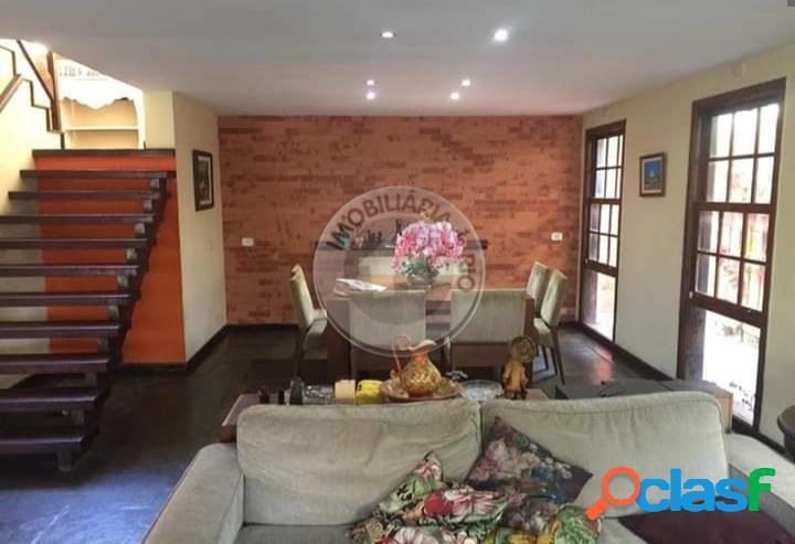 Casa duplex 356m², 4 quartos, rua odilon martins de andrade - recreio