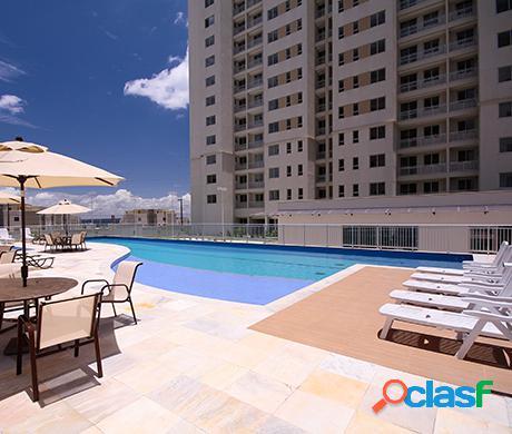 Vendo excelente apartamento de 2 quartos com 1 suíte TOTALMENTE MOBILIADO no condominio Weekend na Ponta negra Manaus-AM