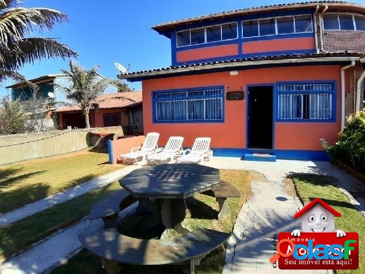 Excelente casa vista mar 5 quartos- unamar-cabo frio rj