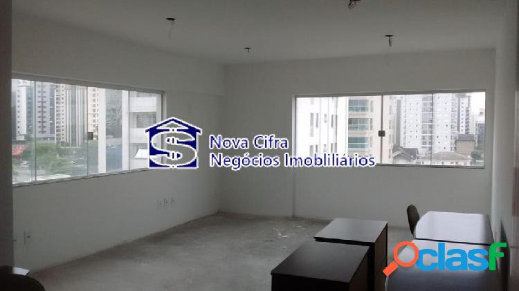 Sala comercial em edifício empresarial - 35m²