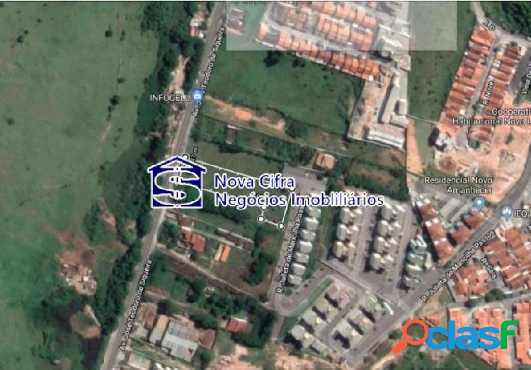 Terreno urbano no bairro jd. maria amélia em jacareí - 3.296m²