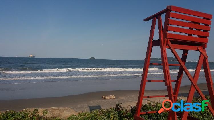 Oportunidade! sobrado 2 dorm.praia itaguacú, são francisco sul- 250m mar