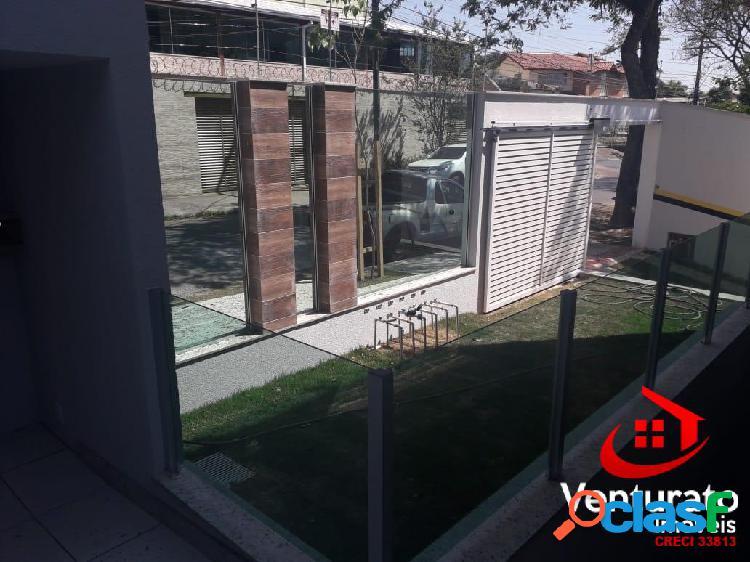 Área privativa 3 quartos no bairro santa amélia.