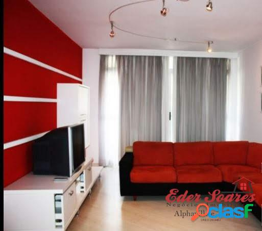 Apartamento mobiliado á venda em localização excelente