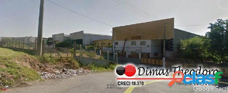 Vende galpão industrial/ comercial - frente rodovia fernão dias sp