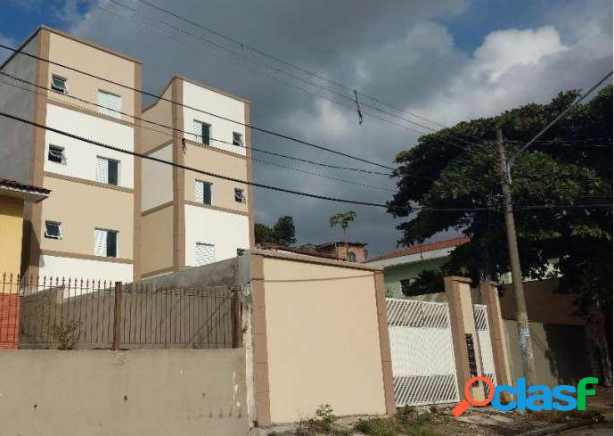 Apartamento studio com elevador, 2 dorms, 1 vaga, 43 mts, condomínio fechado a 5 min metro guilhermina!