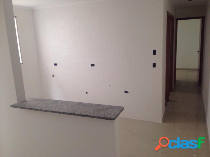 Apartamento studio com elevador, 2 dorms, 1 vaga, 43 mts, condomínio fechado a 5 min metro Guilhermina! 1