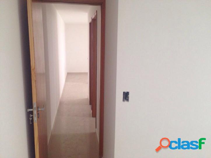 Apartamento studio com elevador, 2 dorms, 1 vaga, 43 mts, condomínio fechado a 5 min metro Guilhermina! 2