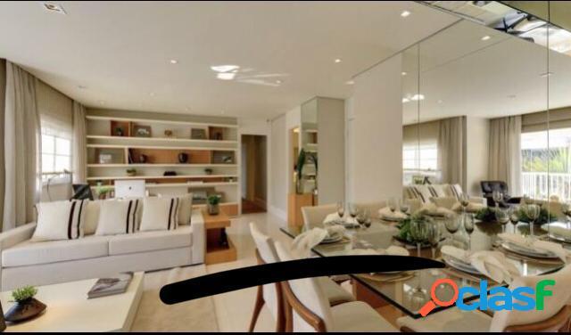 Venda/permuta- apartamento 107 m²/3 dorm/2 vagas/varanda gourmet no tatuapé