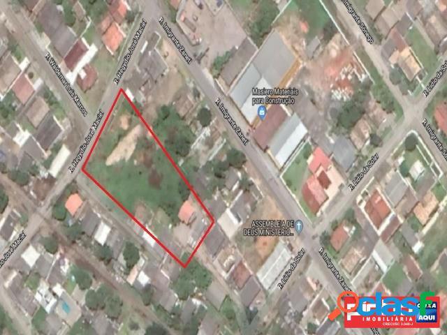 Terreno com área de 5.596,0m², venda direta caixa, bairro paraíso, criciúma, sc, assessoria gratuita na pinho