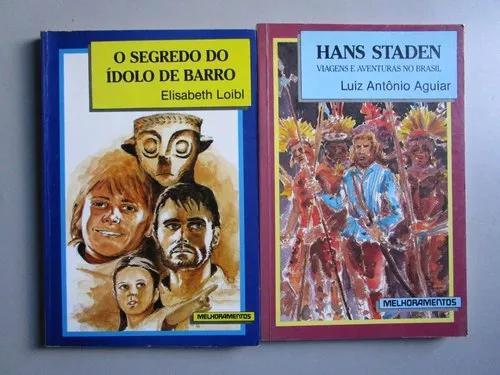 2 livros literatura infanto juvenil - série biblioteca