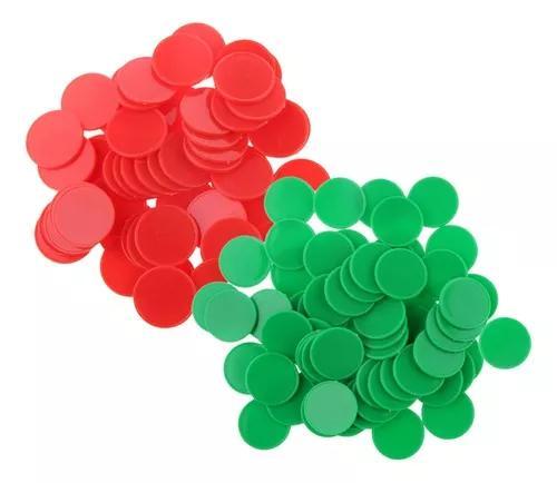 200x batatas fritas pôquer plástico marcadores de bingo fi