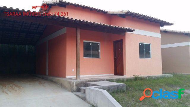 Casas Novas 02 Qts. em Bacaxá (Oportunidade).
