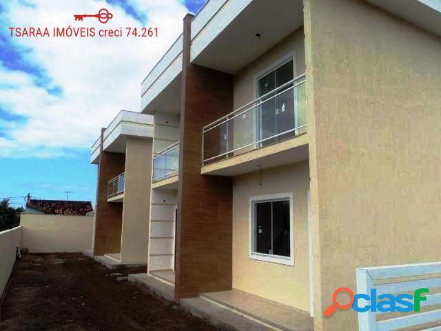 Casa Duplex com 02 Quartos em Araruama.